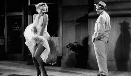 """Marilyn """"sept ans de réflexion """""""