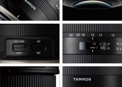Tamron 10-24mm f/3.5-4.5 Di II VC HLD - Détails