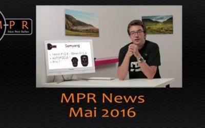 MPR NEWS – Mai 2016