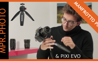 Trépied Manfrotto Pixi Evo