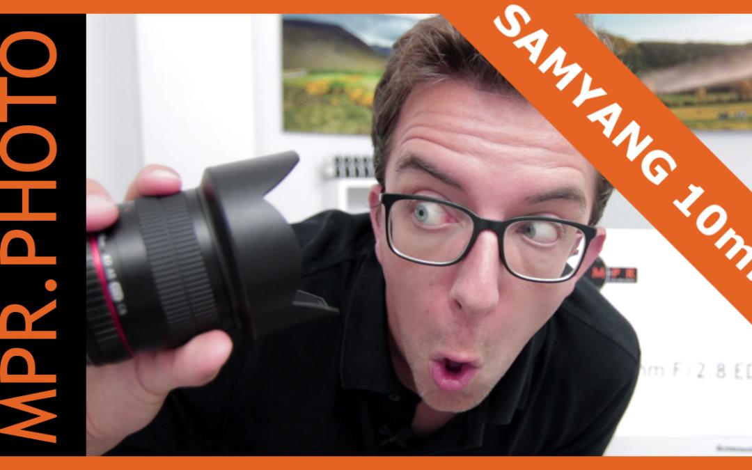 Test du Samyang 10mm F2.8 – Un Ultra Grand Angle APS-C tout manuel !